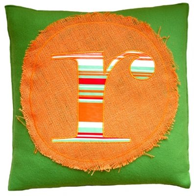 monogram too green & orange