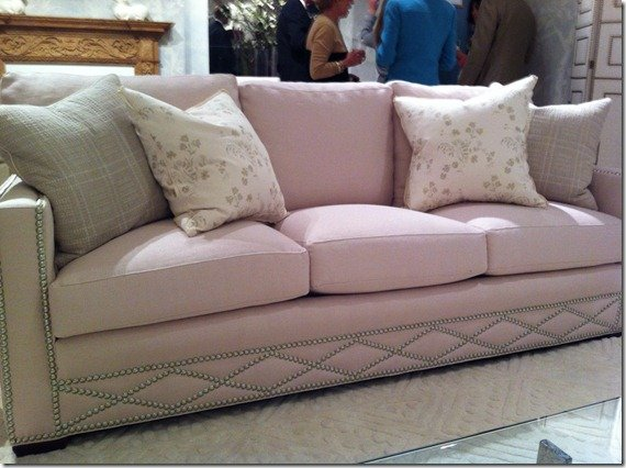 mr and mrs howard sofa, nailheads