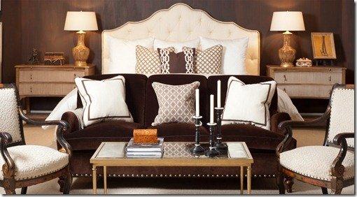 Mr & Mrs Howard bed room scene