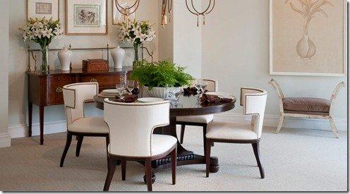 Mr & Mrs Howard dining room scene