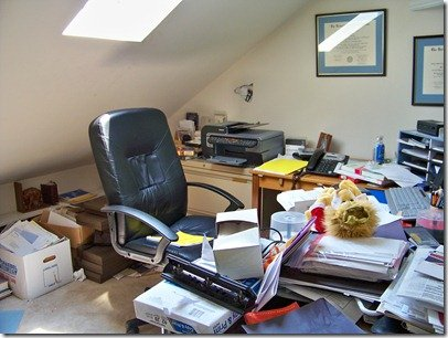before, home office