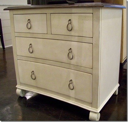 heather scott home furniture, painted chest