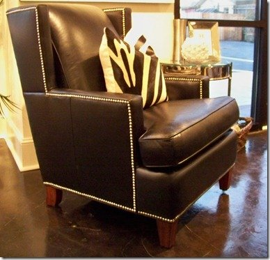 heather scott home leather chair