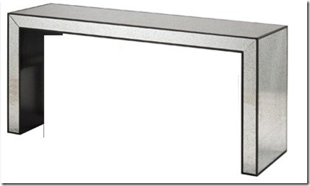 Heather scott home mirrored console table