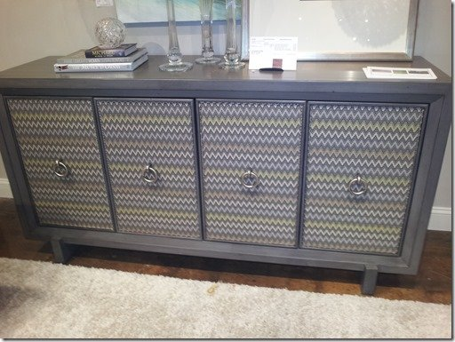 upholstered buffet