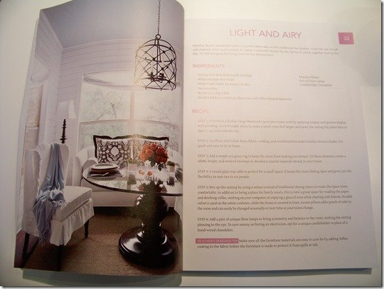 Heather Scott Home and Design in The Design Cookbook