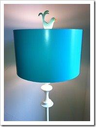 birdie finial for floor lamp