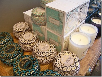 Voluspa candles, Heather Scott Home and Design