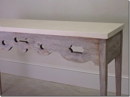 French Console Table Detail