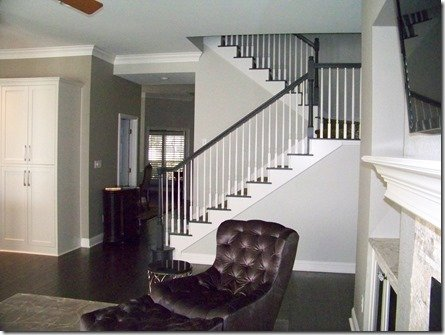 stairwell before interior design
