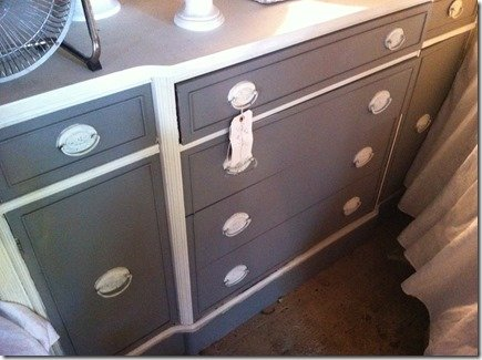 two toned furniture