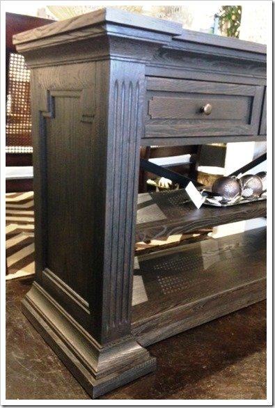 dark wood console 2