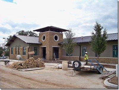 exterior under constructio
