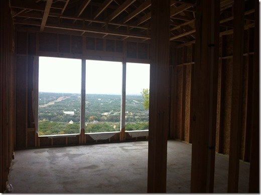 austin parade home bedroom view