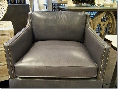 grey leather swivel chairs from heather scott